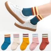 兒童襪子秋冬季女童純棉中筒襪春秋中大童男童學生運動全棉寶寶襪