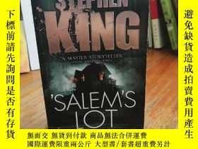 二手書博民逛書店 Salem s罕見Lot 【法文原版】Y12800 Steph