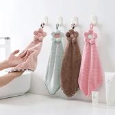 2條裝 洗碗巾擦手巾掛式吸水不掉毛【雲木雜貨】