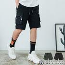 【OBIYUAN】工作短褲 獨家 多口袋 造型 休閒短褲 共2色【EP88017】