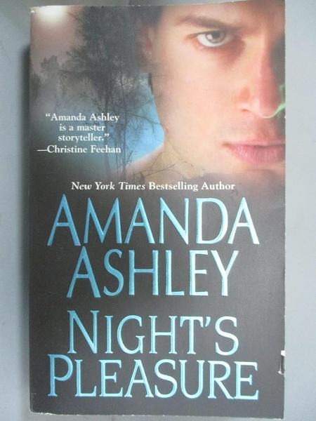 【書寶二手書T9/原文小說_MRD】Night s Pleasure_Ashley, Amanda
