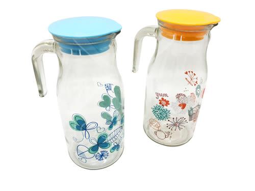 【好市吉居家生活】森活 TY-094 花漾冷水壺 開水壺 泡茶壺 玻璃壺 花茶壺 咖啡壺