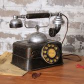 雙12仿古電話 復古老式電話機歐式擺件 創意家居電話擺件模型電影拍攝道具批發 俏女孩