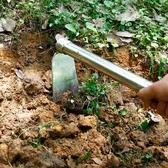 不銹鋼小鋤頭家用種菜工具挖筍除草取土翻土神器農用鋤耙子兩用ATF 伊衫風尚