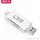 蘋果手機SD相機讀卡器OTG線高速USB3.0內存卡iPhone轉接頭iPad多合一 創時代3c館