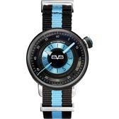 BOMBERG 炸彈錶 BB-01 休閒女錶-藍帆布帶/38mm CT38H3PBA.06-2.9
