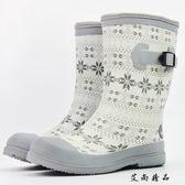 女士中邦春秋新款防水鞋雨鞋
