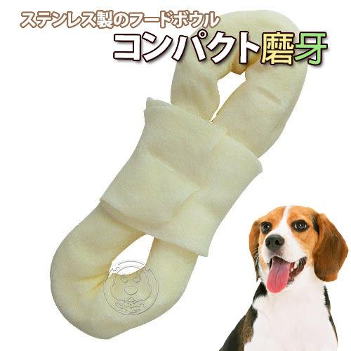 【培菓平價寵物網】 中小型犬潔牙骨4.5吋牛奶8字環*1入