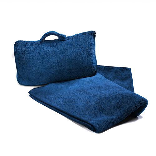 【CABEAU】保暖飛機毯Fold 'n Go Blanket - 藍色