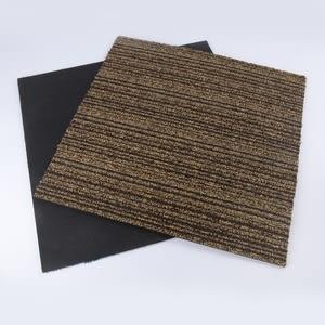 惠普免施工方塊毯-深咖