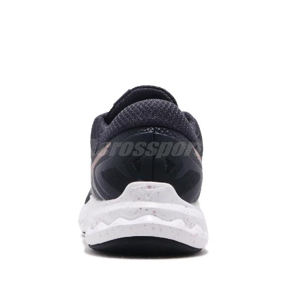 Mizuno 慢跑鞋 Wave Polaris 黑 灰 低筒 舒適緩震中底 運動鞋 女鞋【PUMP306】 J1GD1981-03