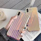 ~SZ24 ~曲面行李箱漸變鐳射軟殼iphone XS MAX 手機殼iphone XR XS 手機殼iphone 8plus 手機殼iphone 6s plu