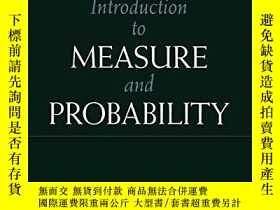 二手書博民逛書店An罕見Introduction To Measure And ProbabilityY256260 J.c.