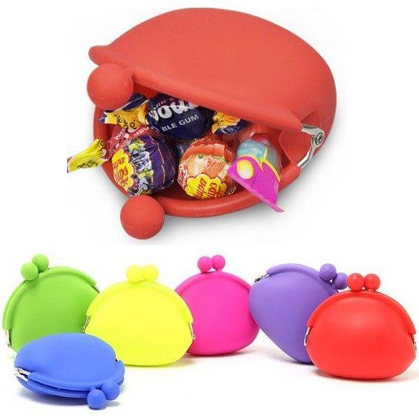 日式糖果色零錢包  矽膠錢包小號  想購了超級小物