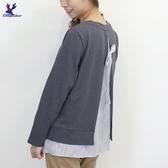 【秋冬新品】American Bluedeer - 刺繡綁帶上衣 二色