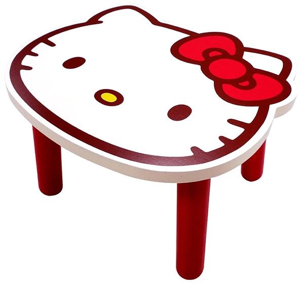【震撼精品百貨】Hello Kitty 凱蒂貓-三麗鷗HELLO KITTY矮凳椅-白色*95614