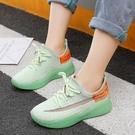 女童鞋2021春夏款兒童網鞋椰子鞋透氣網面中大童夏季運動男童鞋子
