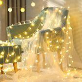 LED星星燈串小彩燈泡串燈滿天星INS少女心房間宿舍佈置網紅燈全館免運