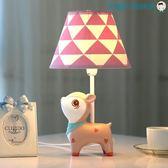 尾牙年貨節小鹿可調光LED檯燈臥室床頭燈暖光洛麗的雜貨鋪