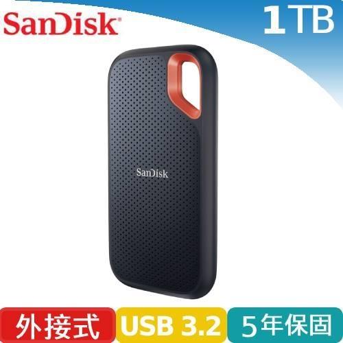 SanDisk E61 1TB 2.5吋行動固態硬碟