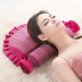 定制頸椎枕頭修復頸椎專用蕎麥枕成人護頸枕單人脊椎矯正病人保健枕芯