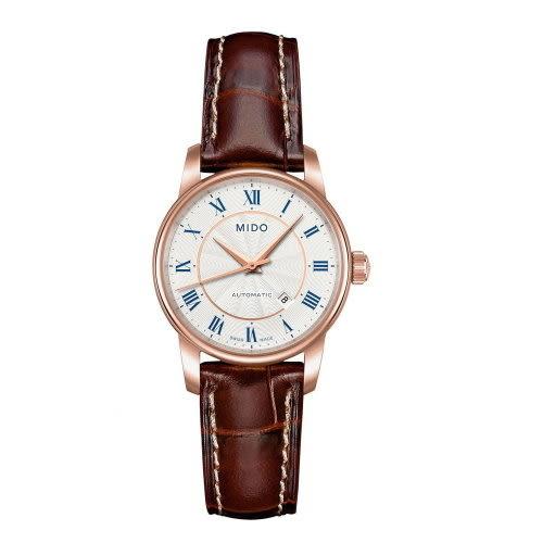 MIDO Baroncelli II時尚機械錶/玫瑰金/女/M76002218