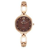 新品上市 ◢BENTLEY 賓利◣ 優雅三針石英女錶  日本機芯 德國製造BL1857-10LRDI玫瑰金X咖啡