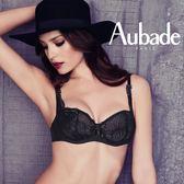 Aubade-我願意B蕾絲薄襯內衣(黑)S9