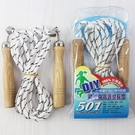 雷鳥 501 跳繩 雷鳥跳繩 木柄(袋裝)/一條入(定60) MIT製