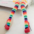L095 彩虹大腿襪