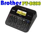 Brother 兄弟牌 標籤機 PT-D600 列印機 液晶彩色螢幕 內建中英日字型 單機/電腦 兩用