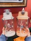 吸管杯 水杯女網紅款2000毫升大水杯大容量運動可愛高顏值吸管杯女生杯子 風馳