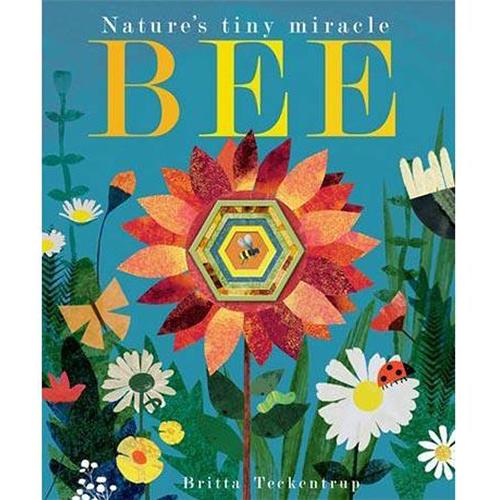 Bee:Nature's Tiny Miracle 小蜜蜂忙碌的一天 疊層洞洞書