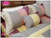 加大˙薄床包(6*6.2尺)/100%純棉˙雙人加大/ivy精品『珊妮艾莎』紅☆*╮