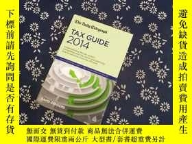 二手書博民逛書店The罕見Daily Telegraph TAX GUIDE 2014Y267682 DAVID GENDER