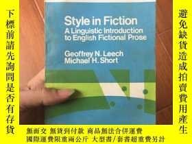 二手書博民逛書店Style罕見in fiction a linguistic i