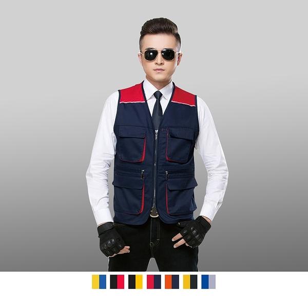 【晶輝團體制服】CH234*多口袋釣魚背心,工作背心,工程裝潢維修背心