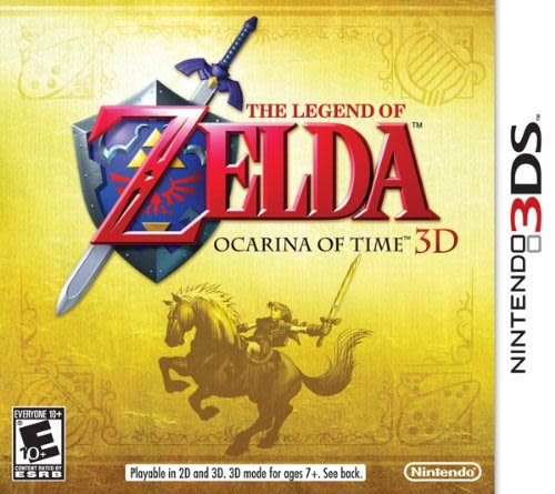 3DS The Legend of Zelda: Ocarina of Time 3D 薩爾達傳說:時之笛 3D(美版代購)