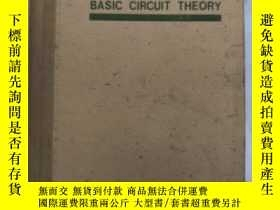 二手書博民逛書店basic罕見circuit theory(H1448)Y173