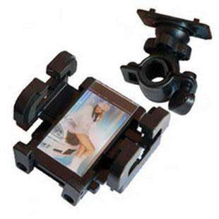 【強尼 3c】雙向360度出口超旋多功能自行車手機架/手機座/GPS支架/MP3