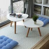 榻榻米小茶幾飄窗桌簡約現代白色烤漆地臺實木炕桌飄窗小茶幾矮桌   夢曼森居家