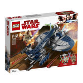 LEGO 樂高 Star Wars: The Clone Wars General Grievous Combat Speeder 75199 (157 Piece)