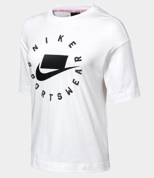 NIKE系列-AS W NSW NSP TOP SS 女款白色休閒短袖 AT0567121