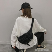腰包帆布小包包女新款潮斜背胸包百搭ins超火工裝學生腰包蹦迪包  【快速出貨】
