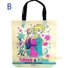 asdfkitty可愛家-迪士尼冰雪奇緣不織布手提袋/購物袋-B款-日本正版商品