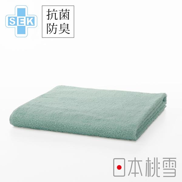 日本桃雪SEK抗菌防臭運動大毛巾(鼠尾花綠) 鈴木太太