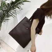 側背包 新款潮韓國小清新時尚手提女包托特包百搭單肩包