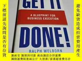 二手書博民逛書店Get罕見It Done!: A Blueprint for B