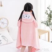 嬰兒浴巾兒童斗篷帶帽比純棉超柔吸水速干洗澡包被寶寶用品浴袍 夏季新品