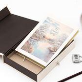 筆記本  密碼本子多功能筆記本帶鎖韓國創意小清新復古記事本  瑪奇哈朵